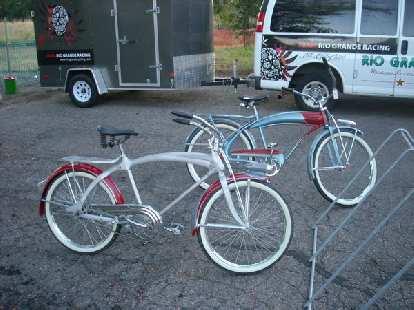 Cruiser bikes.