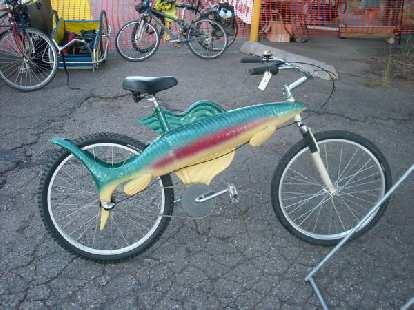A fish bike.