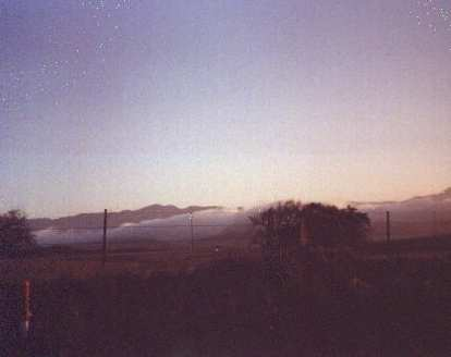 Fog during the 1999 Solvang Double Century.