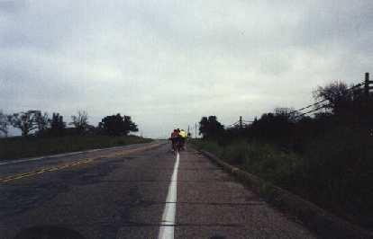 catching up to cyclists in the 2000 Solvang Double Century