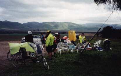 rest stop, 2000 Solvang Double Century