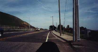 riding through San Luis Obispo, 2000 Solvang Double Century