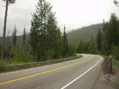 In contrast to other parts of Eastern Washington like Yakima, the upper northeast corner of the state is green and lush.  This is the Colville National Forest about 60 miles from Spokane.