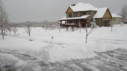 Day 2: Yet more snow overnight.