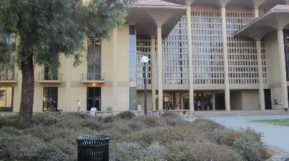 Meyer Library.  During my Stanford days, I spent hundreds of hours in the 24-hour study room at the lower left.
