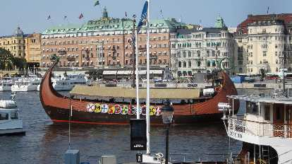 A Swedish ship.