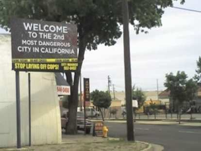 Thumbnail for Related: Welcome Sign in Stockton, CA (2011)