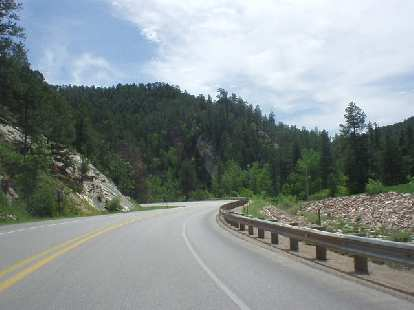 Highway 14A from Deadwood to Sturgis was spectacular!