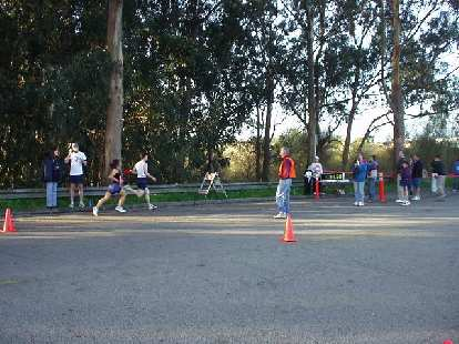 These were some of the early finishers of the 3k race, which was held before the 10k race (which I did).