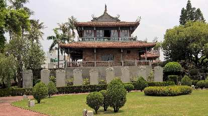 Fort Provintia (Chihkan Tower) in Tainan City, Taiwan.