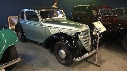 This Amilcar Compound front wheel drive vehicle with independent suspension was produced in France from 1938-1941.