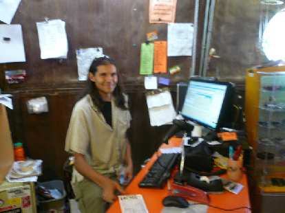 Day 16: Much thanks goes to Assam of the Orange Peel Bicycle Service for offering to free up his staff to work on my bike for free labor.