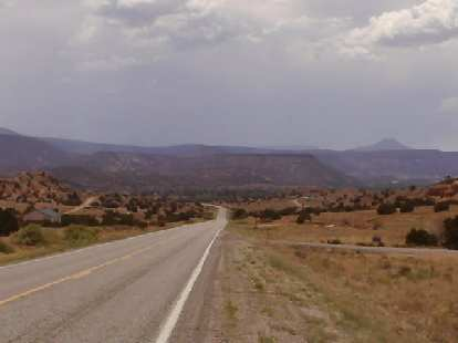 [Day 24, Mile 2187] Screaming descent towards Cuba, NM.