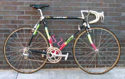 One of Greg LeMond's winning bikes of the 1990 Tour de France.