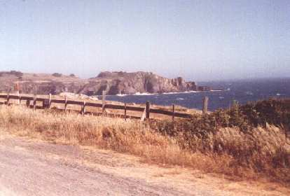 view of the Pacific Ocean, 1999 Terrible Two Double Century