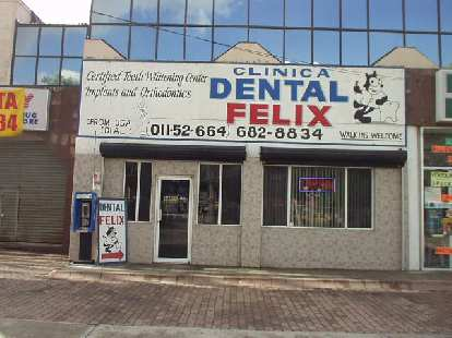 A dental clinic sporting my name!