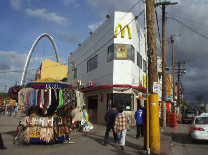 Of course, there was McDonalds!  I did not go into this one.