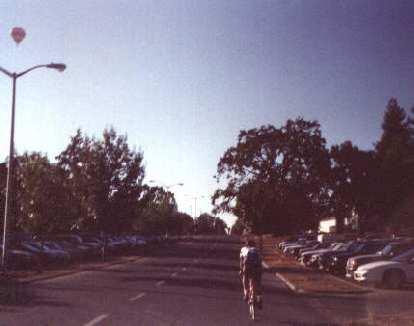 Ken Loo starting the 1998 Tour de Napa Valley