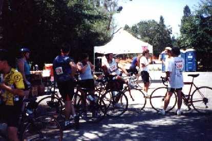 Stanford C-Ya, rest stop, 1998 Tour du Jour