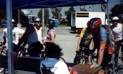 finish in Redwood City, 1998 Tour du Jour