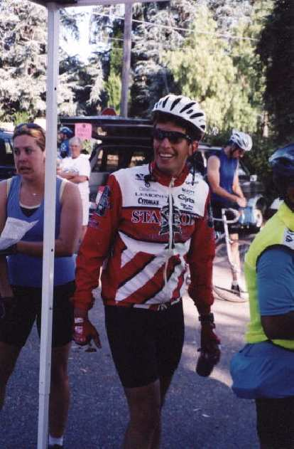 Daniel Lieb, Stanford cycling jersey, 2000 Tour du Jour