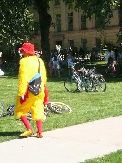 Big Bird's cousin.