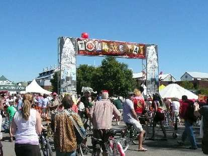 Hooray!  It's that time of year again -- the 7th annual Tour de Fat in Fort Collins.