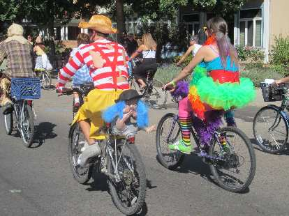 Colorful costumes.