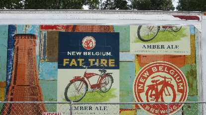 Fat Tire is New Belgium Brewing Co.'s most famous beer.