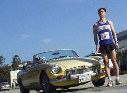 [February 6, 2005] In Santa Cruz for the Super Bowl 10k.  That was the last time I drove ultra-curvy Highway 17... great drive.