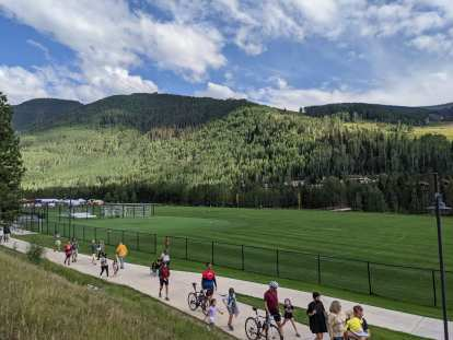 In 2021, the Triple Bypass ride ended in a community park in Vail.