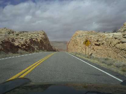Towards Arizona, the landscapes got drier, but there was still plenty of rock.
