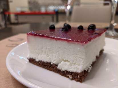 A tasty dessert at VaughanTown.