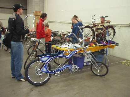 A custom low-rider.