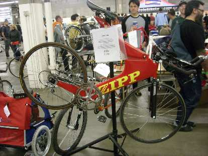 "A 1993 Zipp time-trial bike, ""one of the fastest bikes of its time and possibly today."""