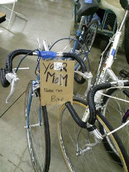 """Your mom needs this bike."""