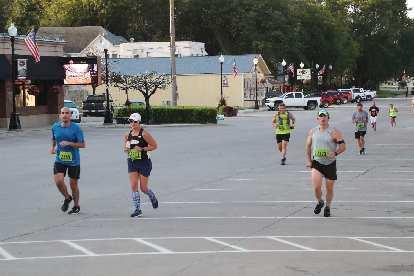 Manuel and Mel ran together through Malvern.