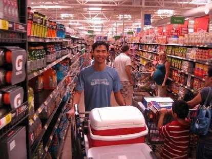 A typical Walmart shopper?