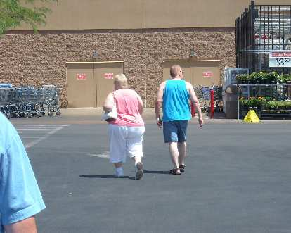 We found the way to Walmart in Pahrump, NV by following these folks.