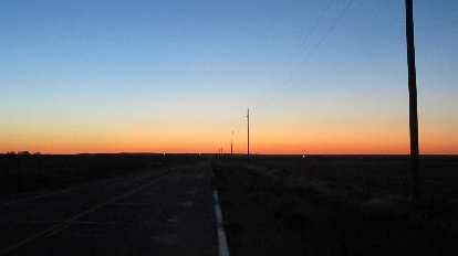 [Mile 18] Sunrise over eastern Colorado.