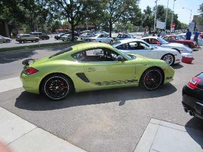 2012 Boxster Cayman.