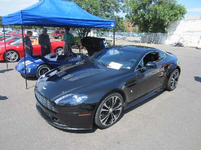 A 2012 Aston Martin Vanquish.