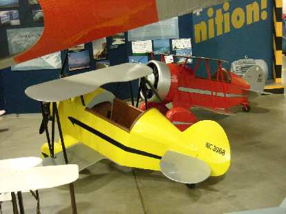A kiddie plane.  I was skeptical that this could fly too.