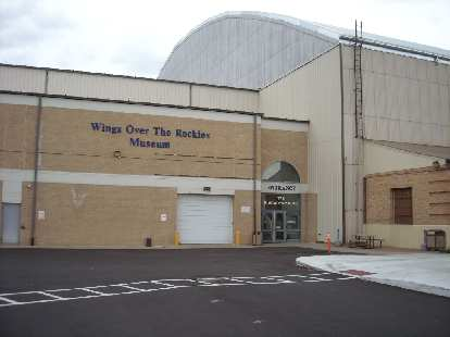 The Wings Over the Rockies Museum is in Denver, CO.