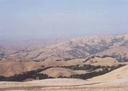 Sarah (lived with me for 2 months, close friend) just gave me these pic's!  This is of our hike up Mission Peak in Sep 2001.