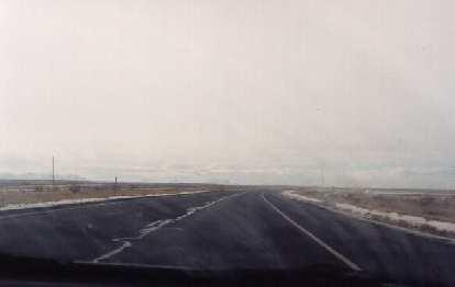 The open road in Utah.