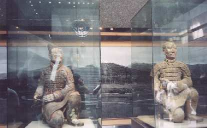 Terra Cotta Soldiers in Xian, one of the 8 Wonders of the World.