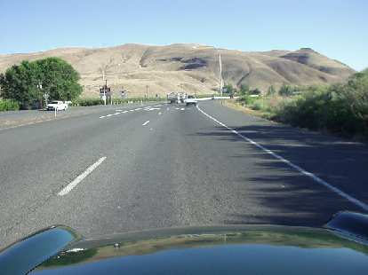 Alas, Yakima (60 miles north of Brooks Memorial SP) was surrounded by barren, brown hillsides.  Big contrast.