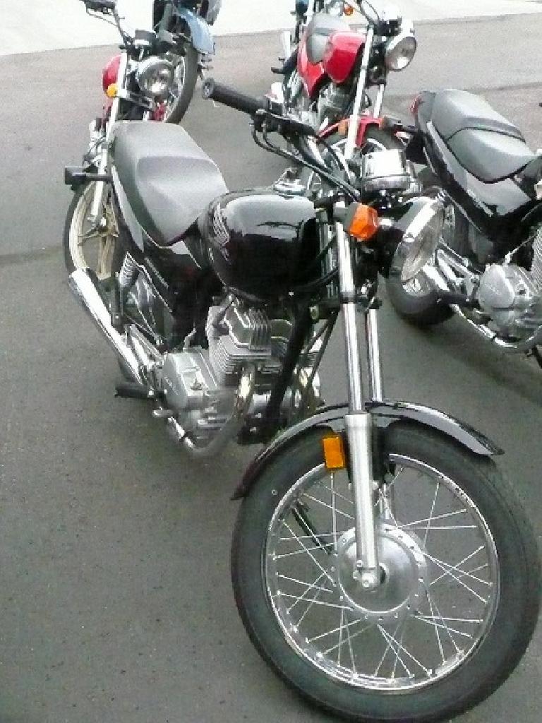 I rode a black Honda Nighthawk 250 in the ABATE class.