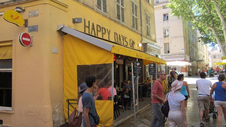 Happy Days diner.